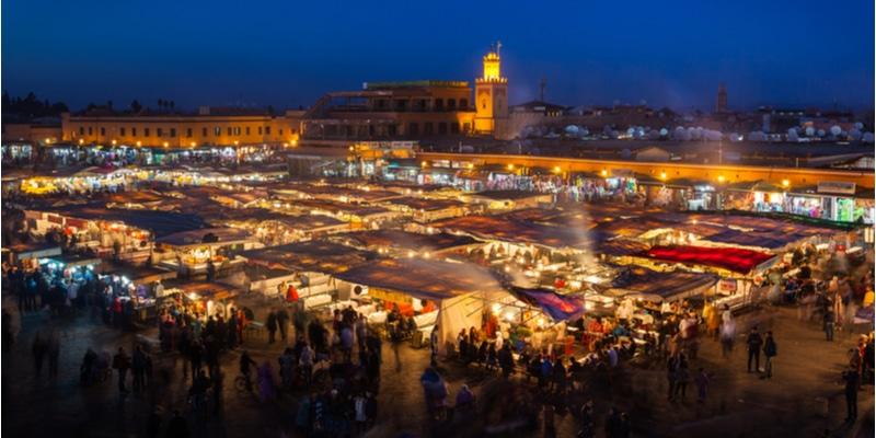 place de Jemaa-el-Fna
