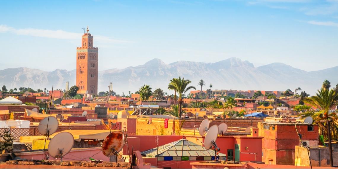 voyager à marrakech
