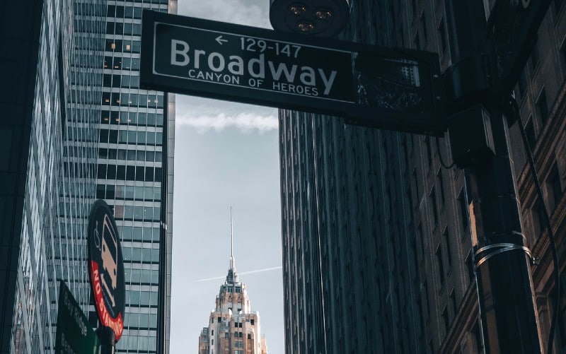 Broadway a new york