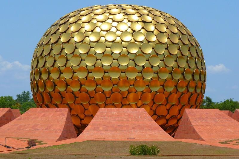 Ashram de Pondichéry en Inde
