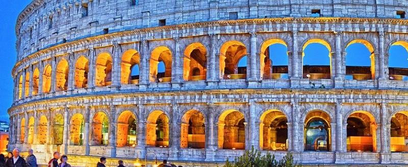 Voyager à Rome, le colisée