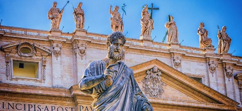Voyager à Rome, la basilique Saint Pierre