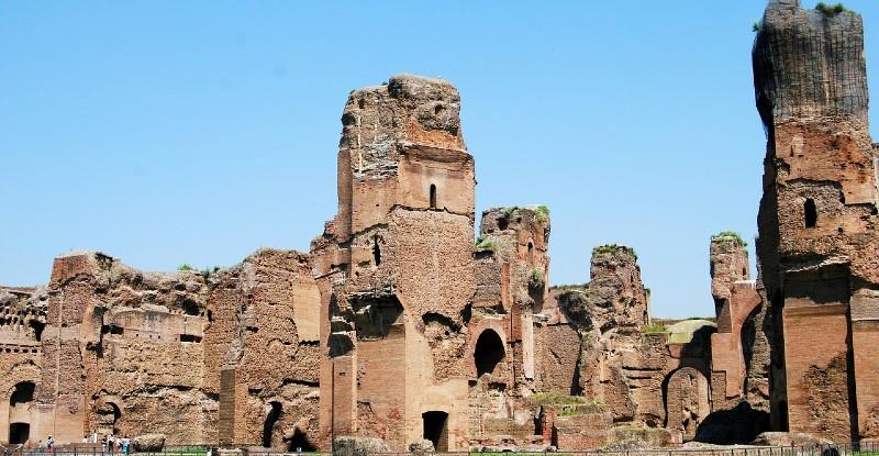 Termes de Caracalla à Rome