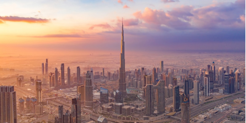 gratte-ciels burj khalifa